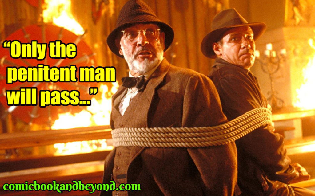 Indiana Jones and the Last Crusade best quotes