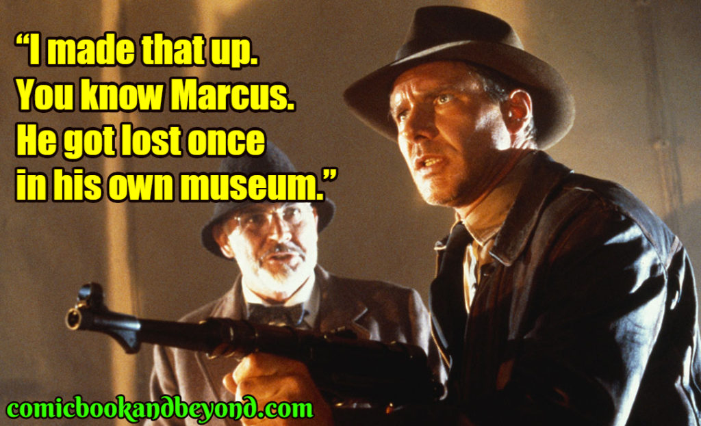 Indiana Jones and the Last Crusade famous quotes
