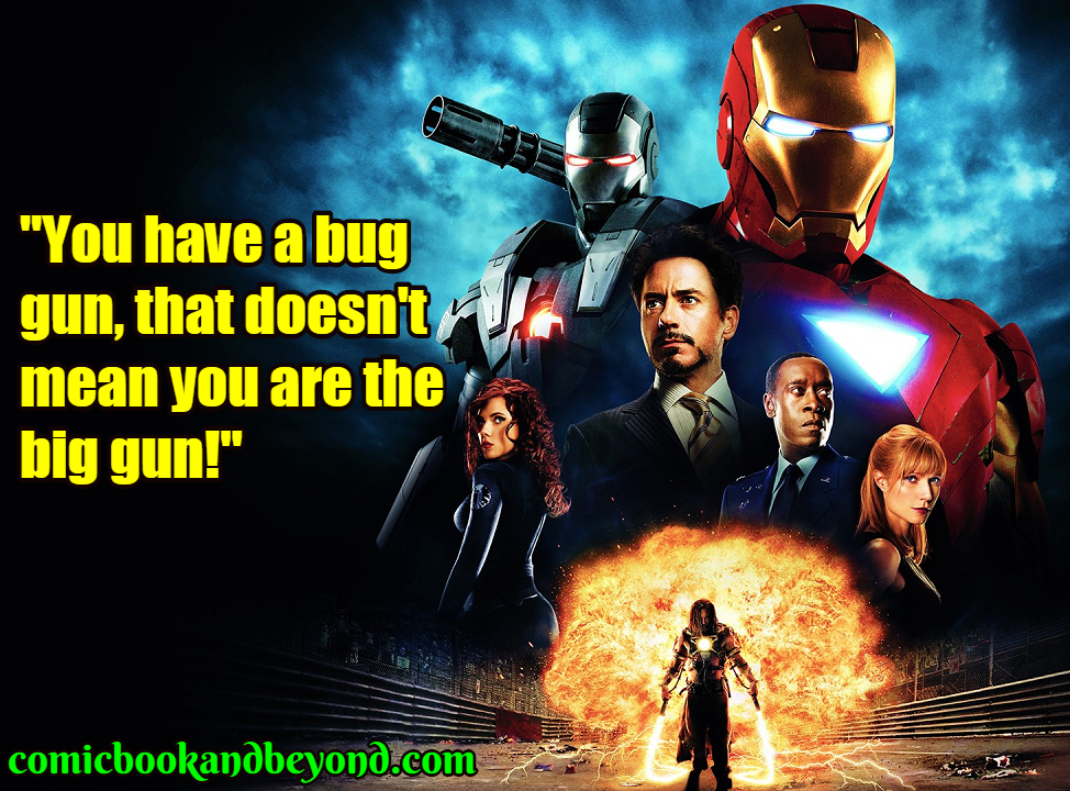 Iron Man 2 best quotes