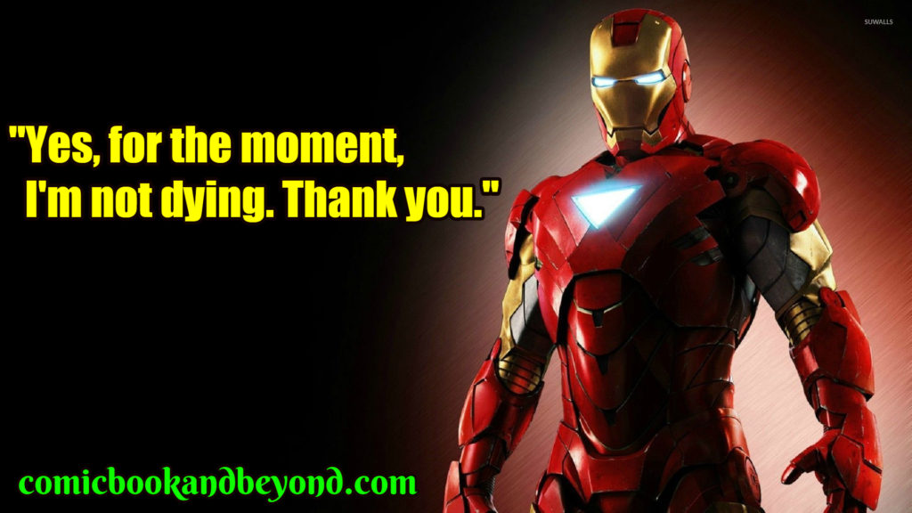 Iron Man 2 famous quotes