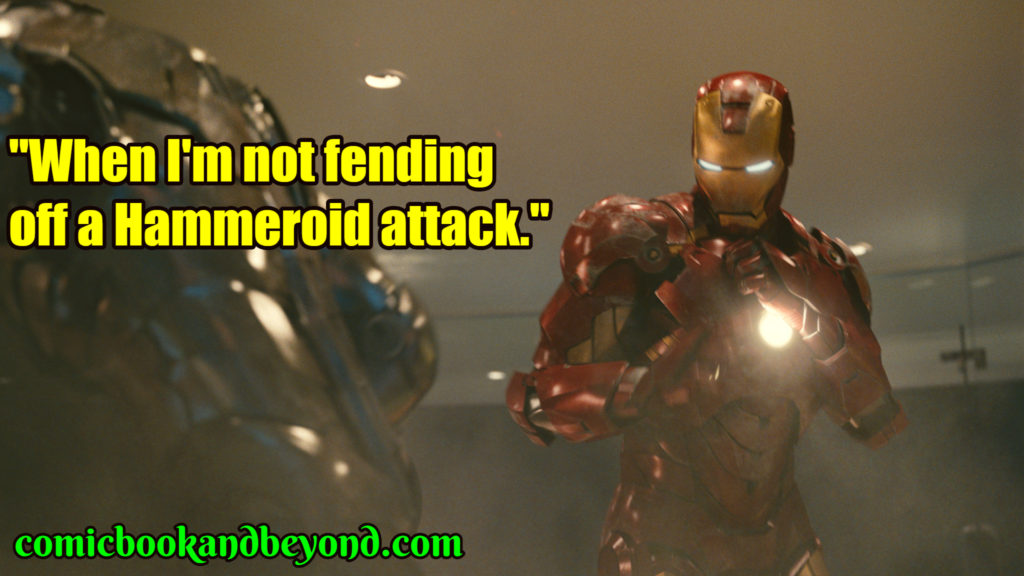 Iron Man 2 popular quotes