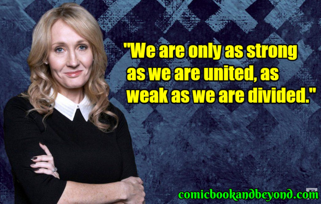 J. K. Rowling popular quotes