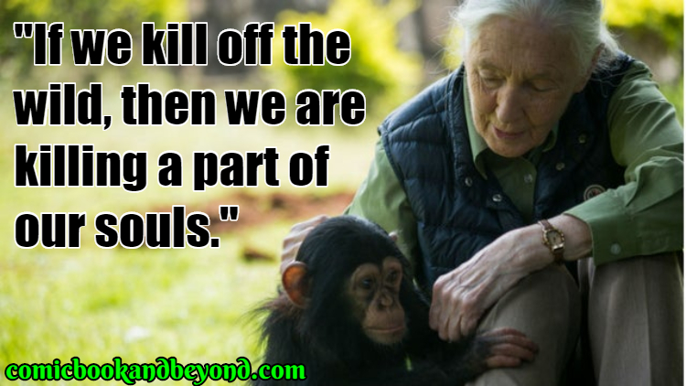 Jane Goodall Famous Quotes