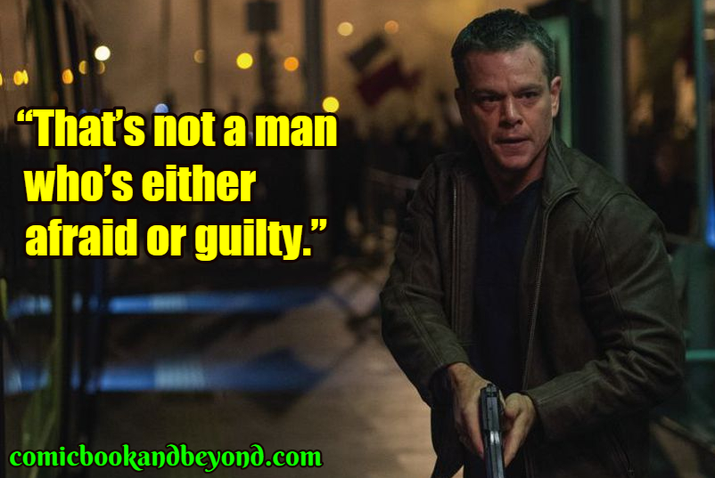 Jason Bourne famous quotes