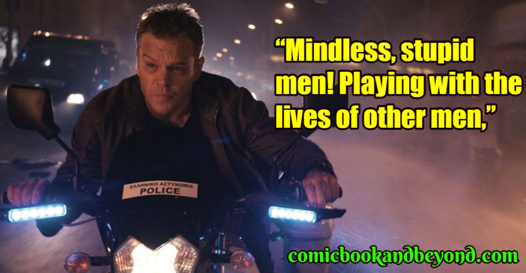 Jason Bourne popular quotes