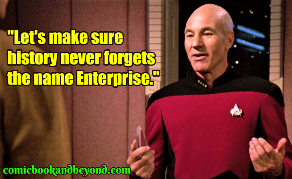 Jean Luc Picard popular quotes