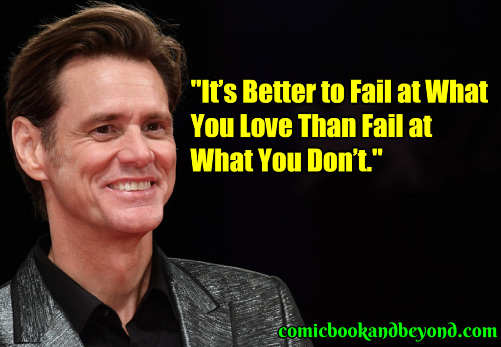 Jim Carrey popular quotes