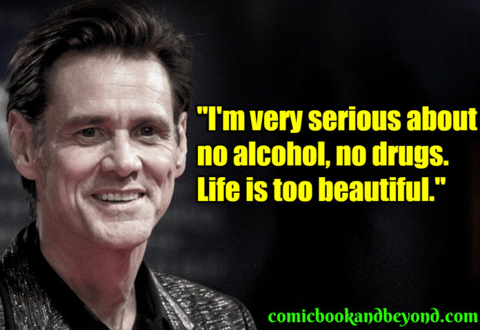 Jim Carrey saying