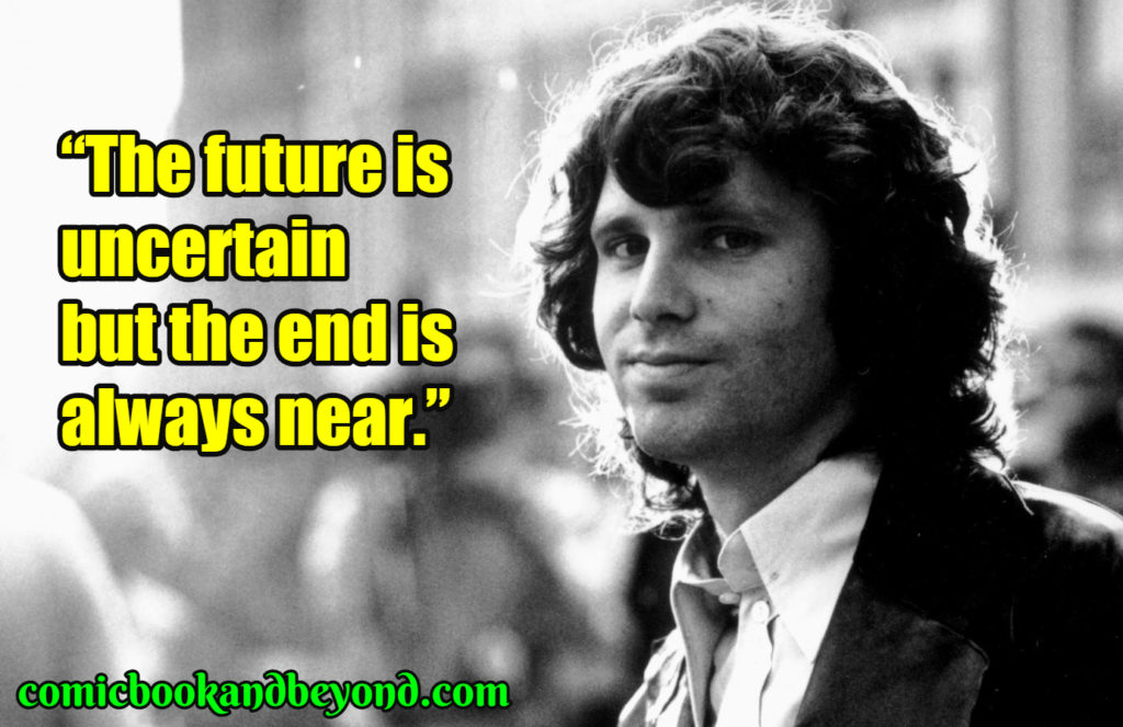 Jim Morrison saying