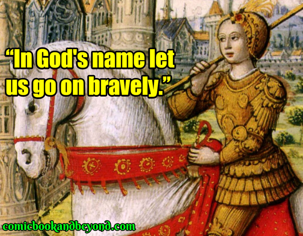 Joan of Arc best quotes