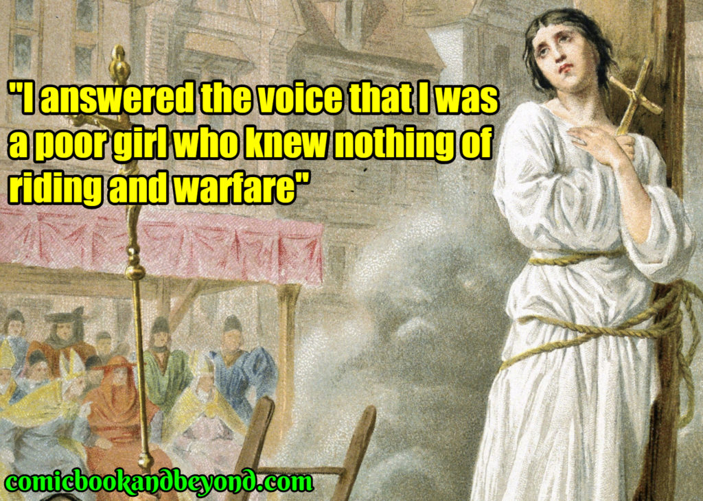 Joan of Arc famous quotes