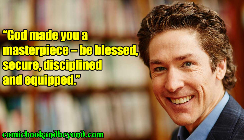 Joel Osteen famous quotes