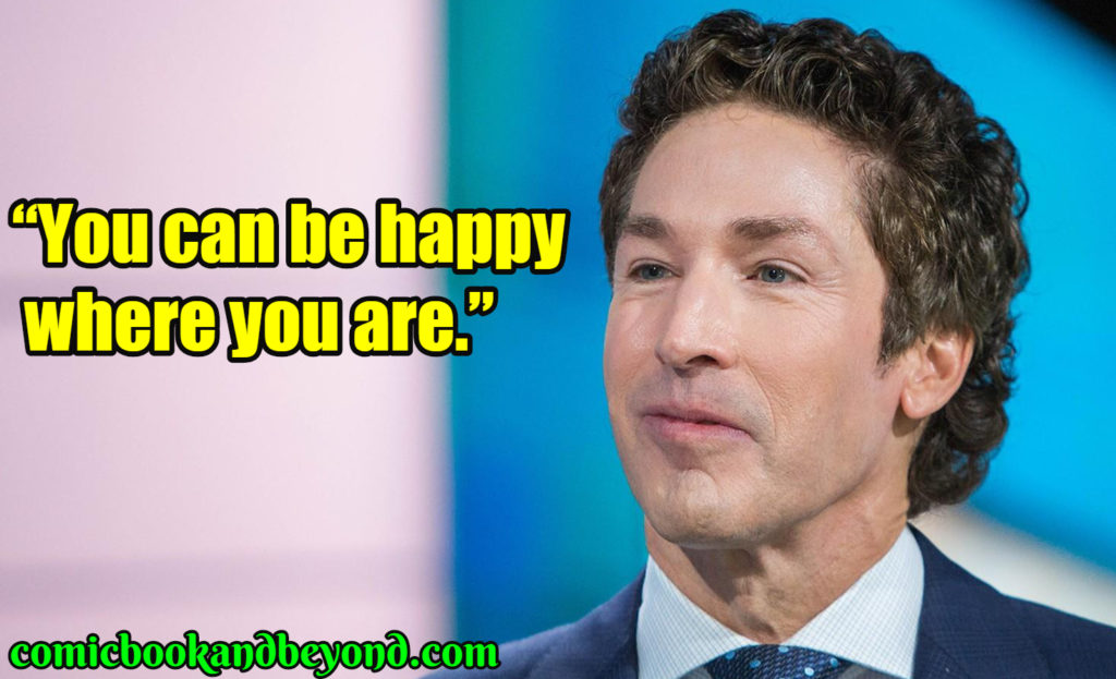 Joel Osteen saying
