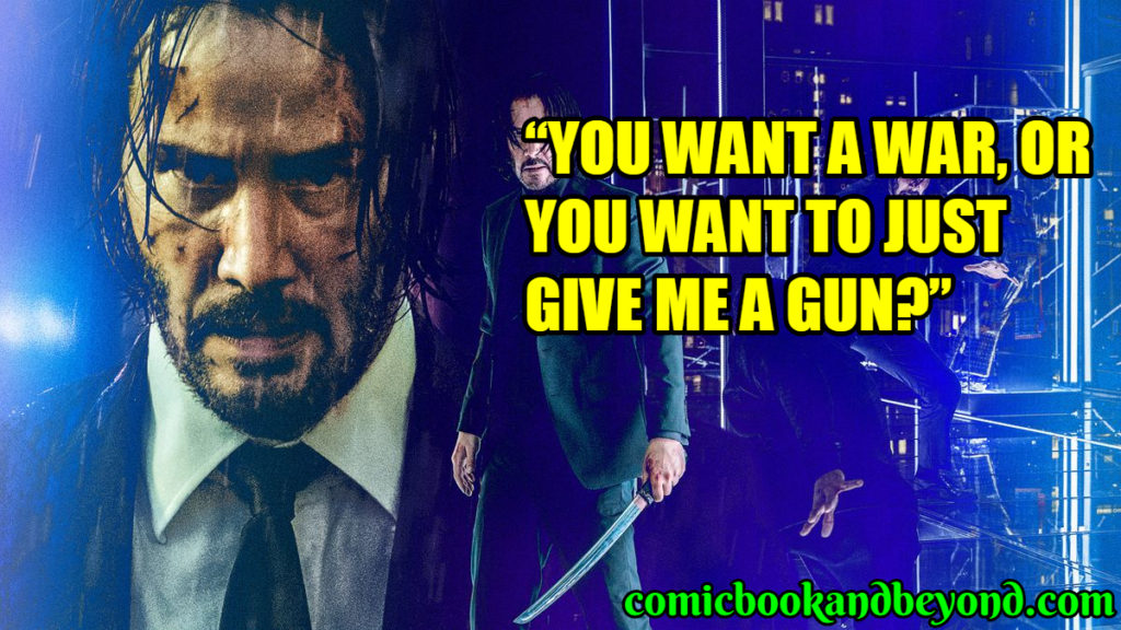 John Wick best Quotes