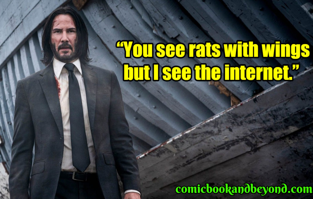 John Wick famous Quotes