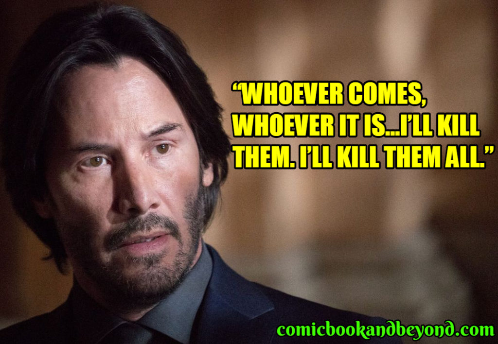 John Wick saying