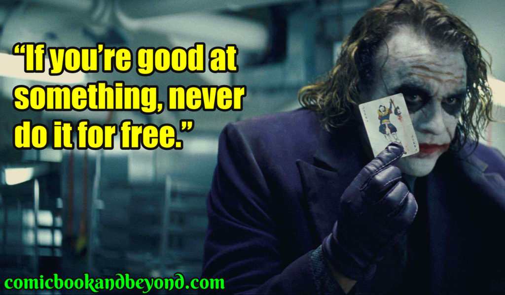 Joker best Quotes