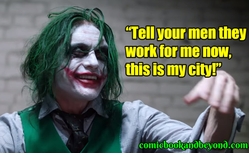 Joker saying