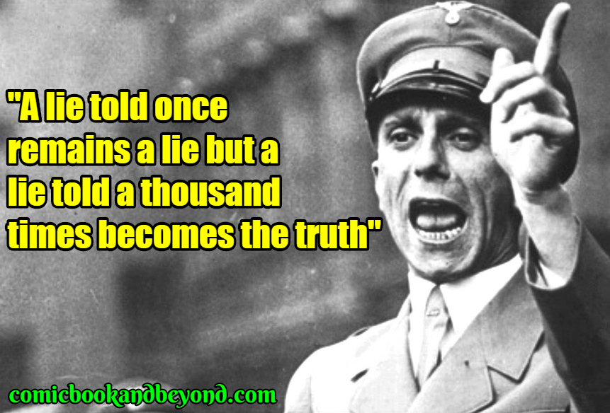Image result for goebbels quotes