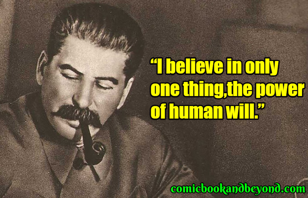 Joseph Stalin best quotes