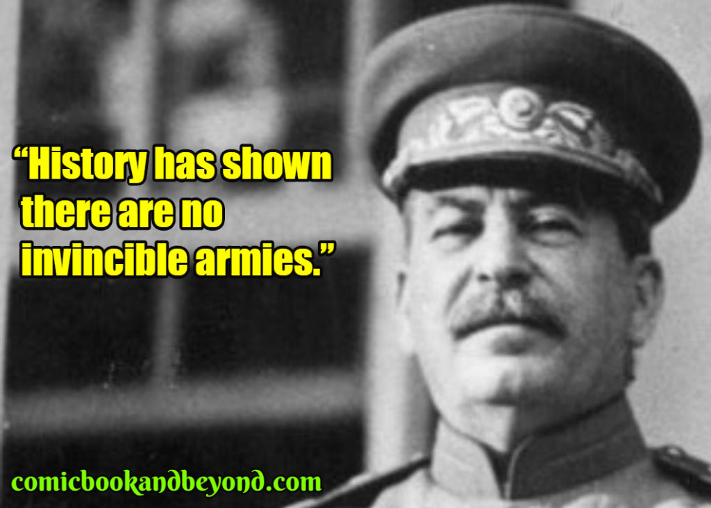 Joseph Stalin saying