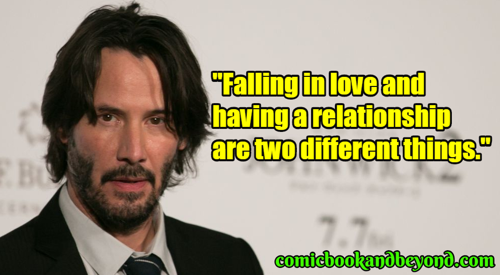 Keanu Reeves best quotes