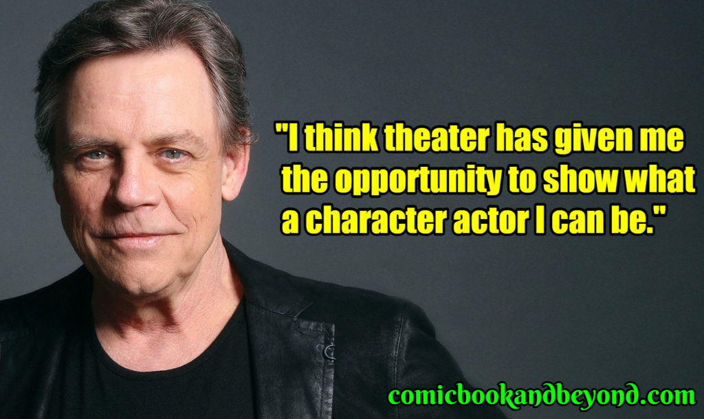 Mark Hamill saying