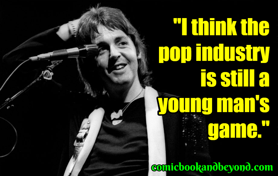 Paul McCartney Best Quotes