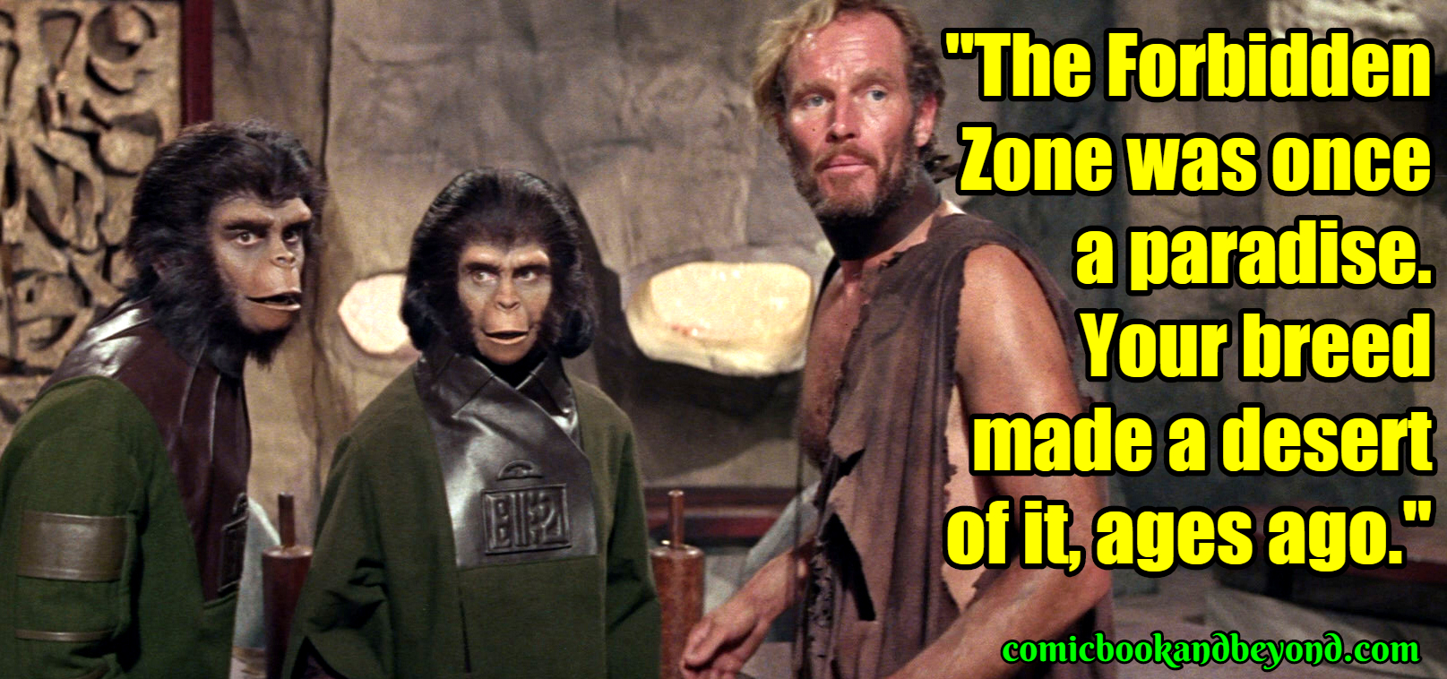 Planet Of The Apes Best Quotes