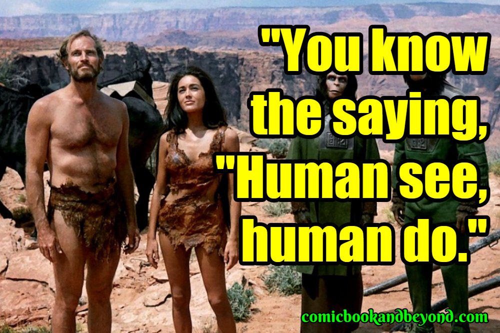 Planet Of The Apes Popular Quotes