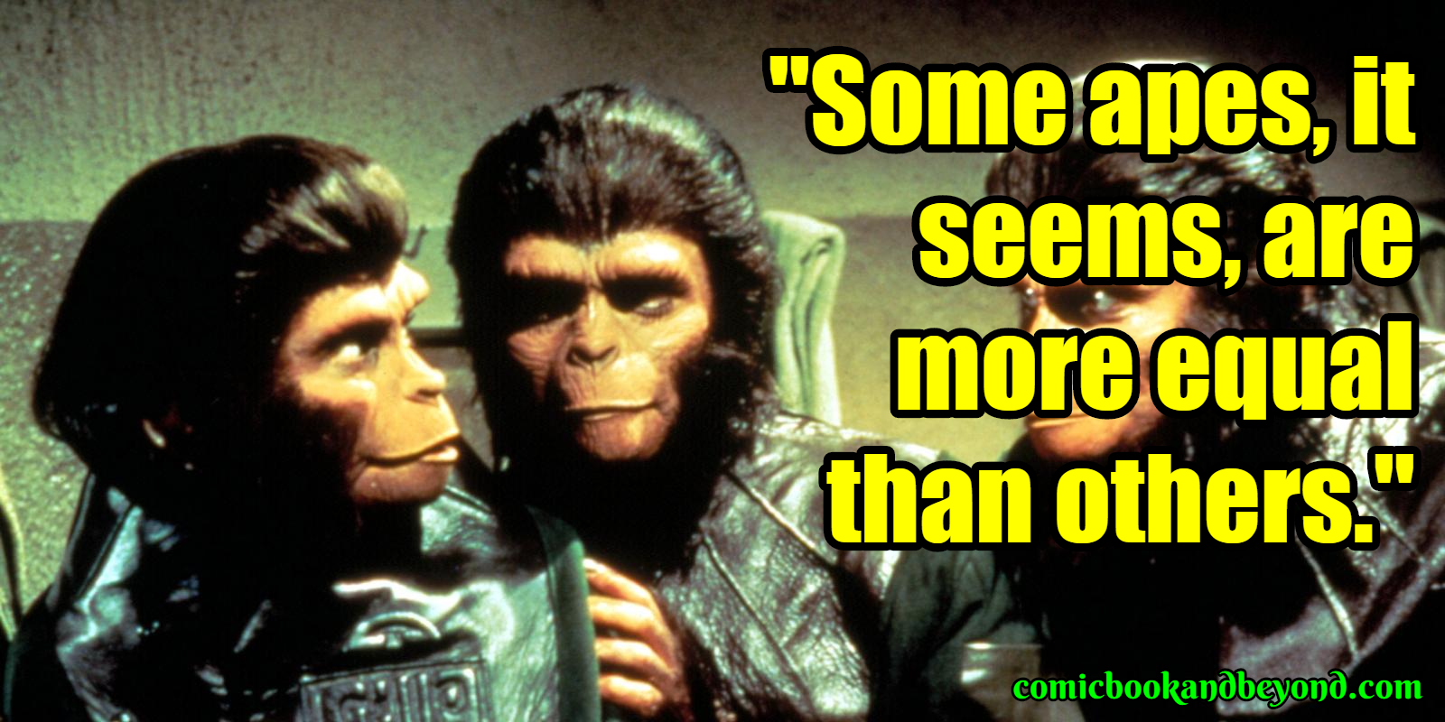Planet Of The Apes Sayings