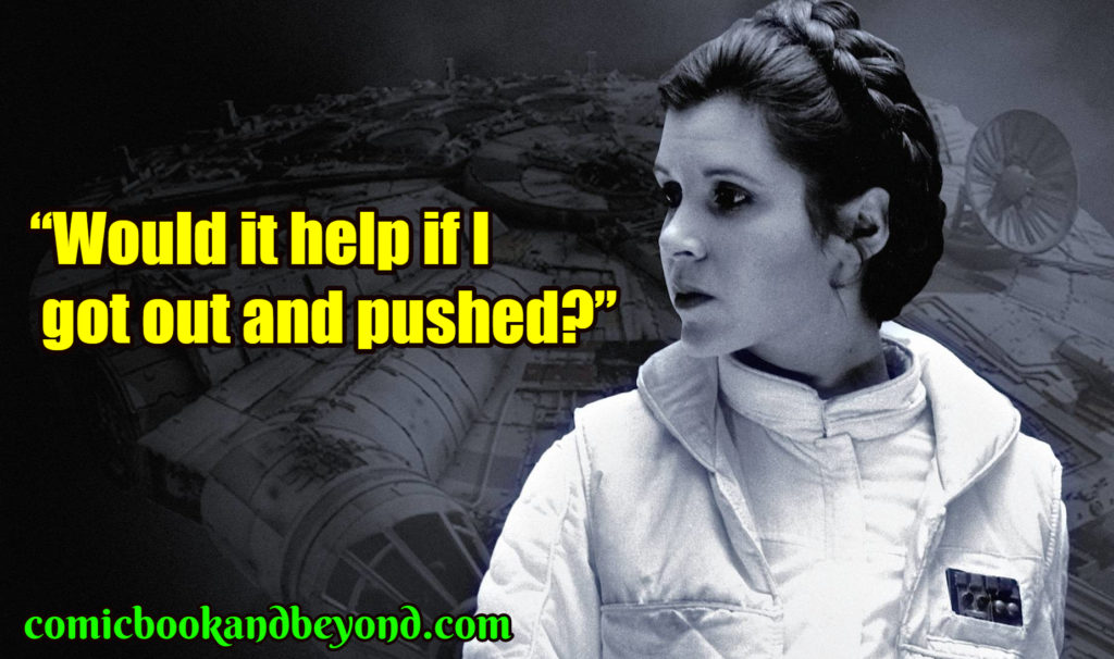 Princess Leia best quotes