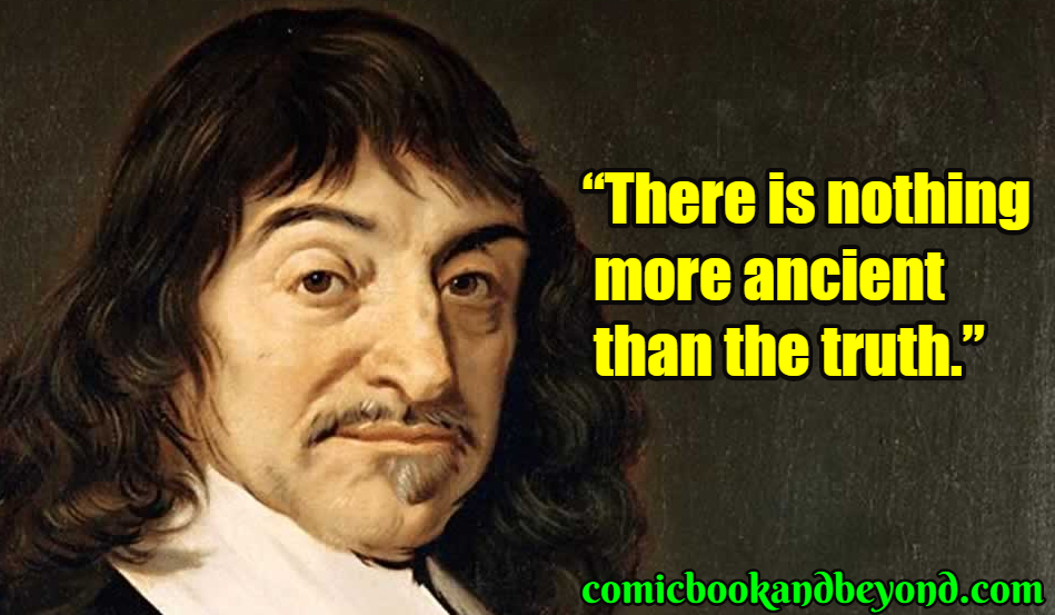 Rene Descartes saying