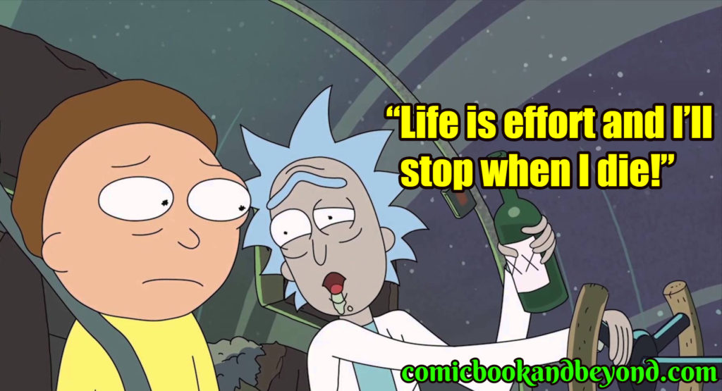 Rick & Morty famous quotes