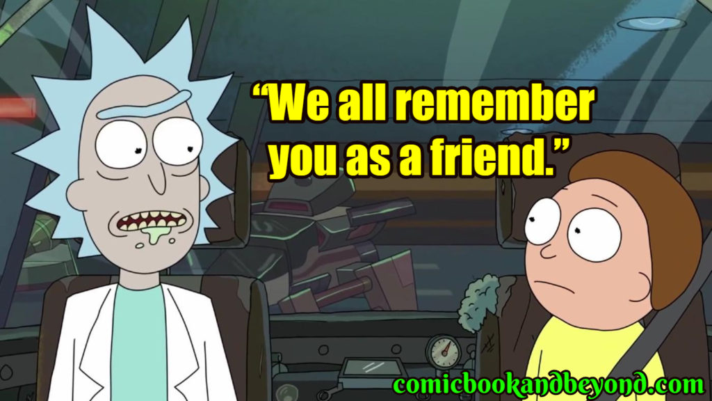 Rick & Morty popular quotes