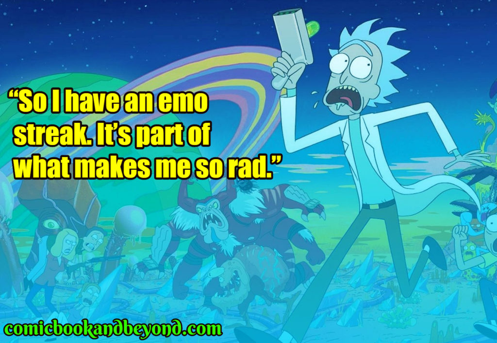 Rick & Morty saying