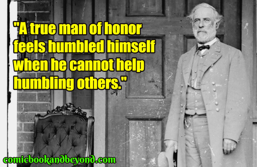 Robert E. Lee quotes