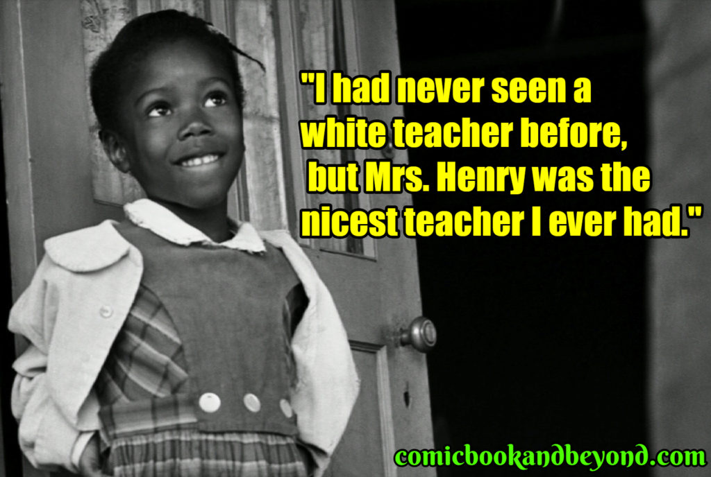 Ruby Bridges famous quotes