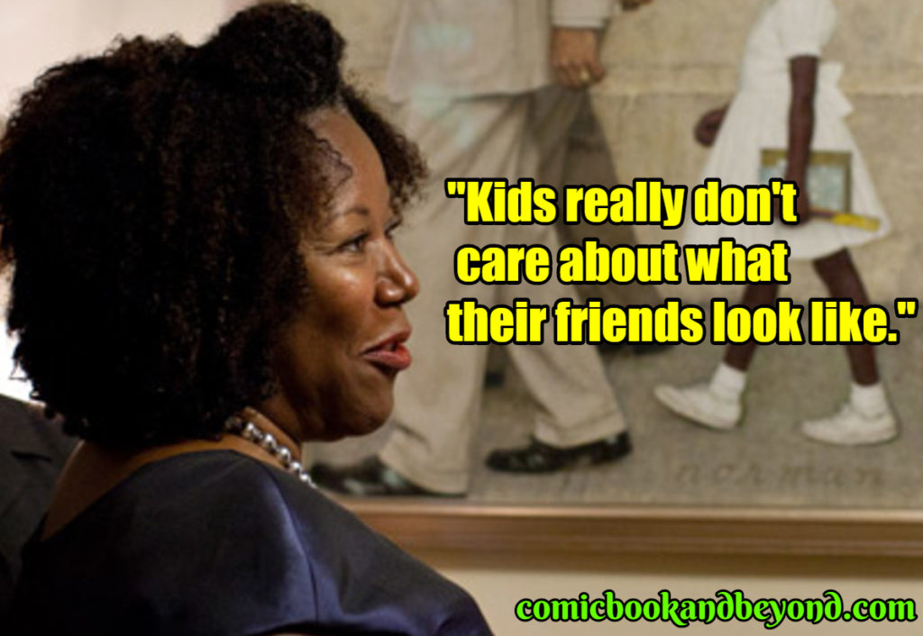 Ruby Bridges saying