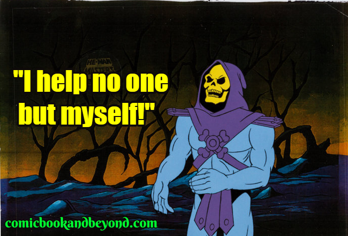 Skeletor famous Quotes