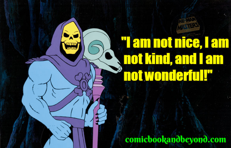 Skeletor popular Quotes