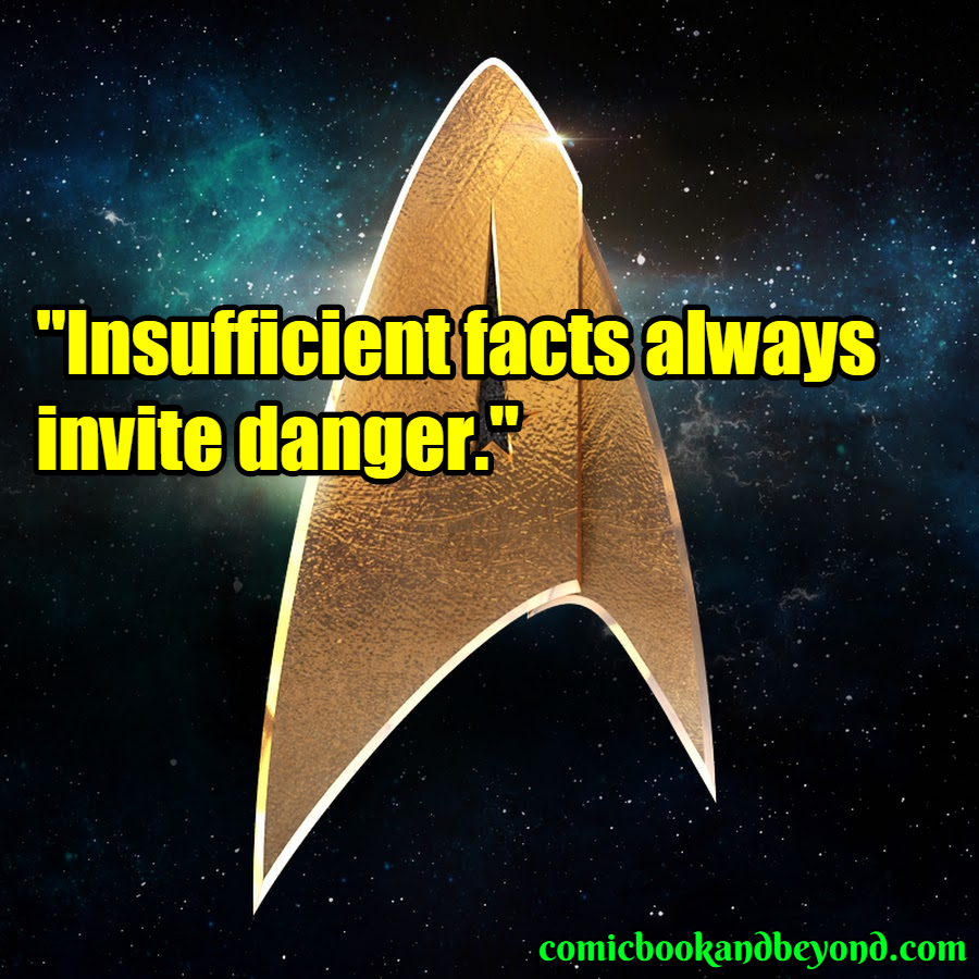 Star trek saying
