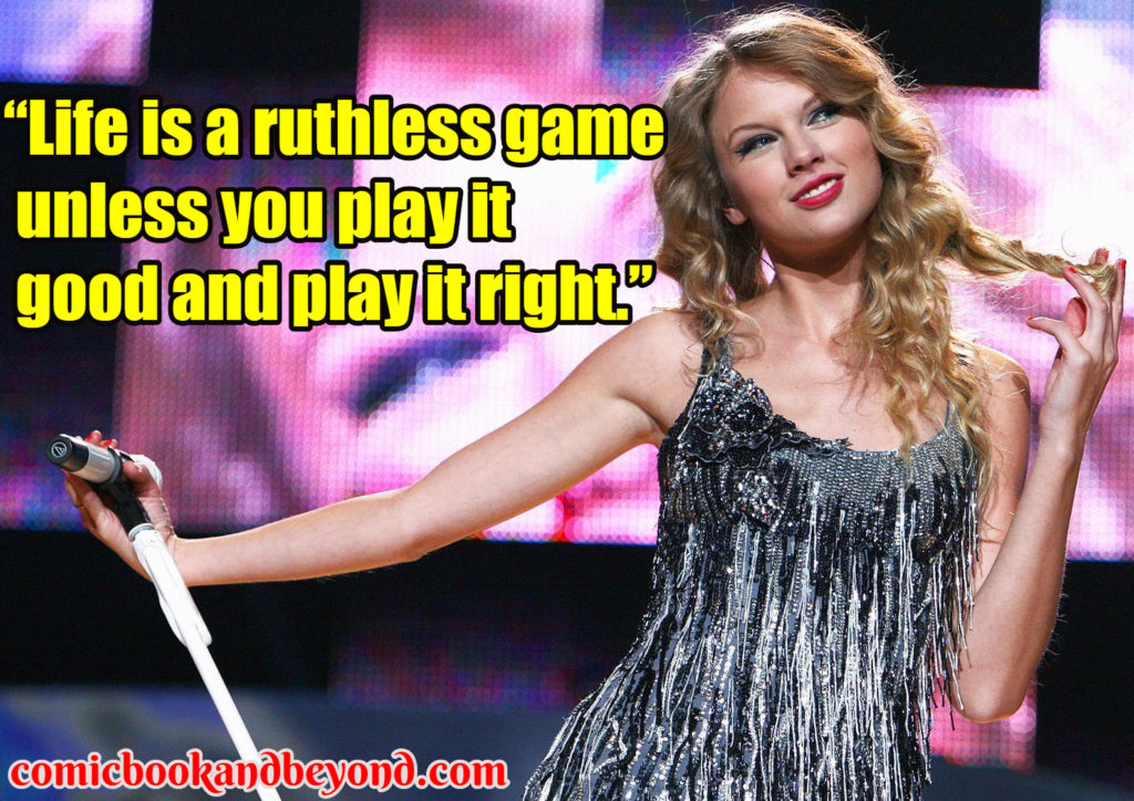 Taylor Swift popular quotes