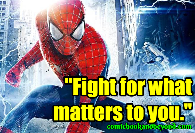 The Amazing Spider-Man2 Famous Quotes
