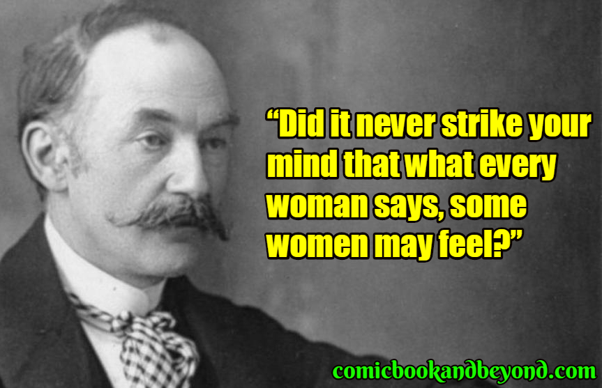 Thomas Hardy popular quotes