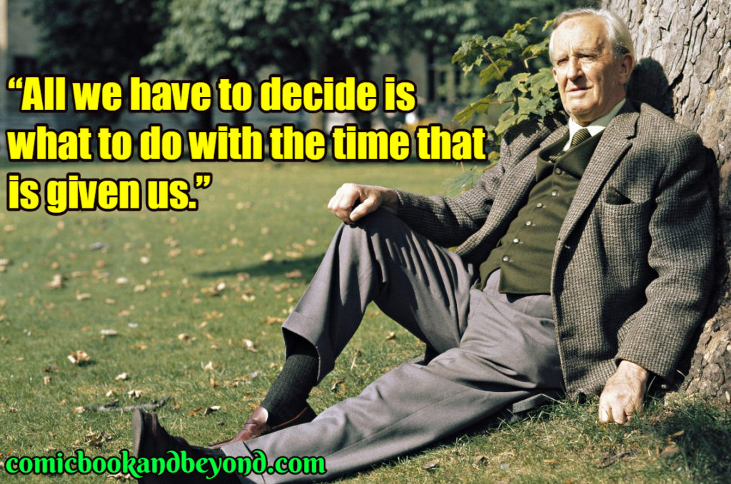 Tolkien famous quotes