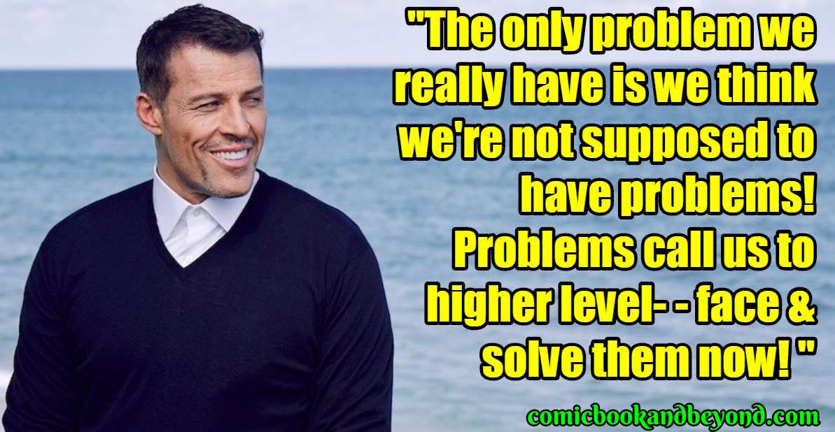 100 Tony Robbins Quotes From The Real Yes Man Comic Books