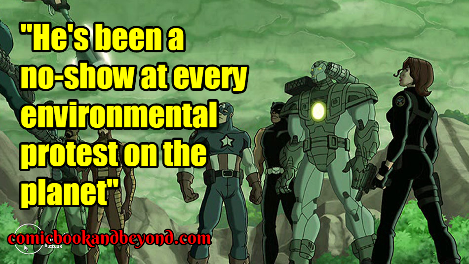 Ultimate Avengers Quotes