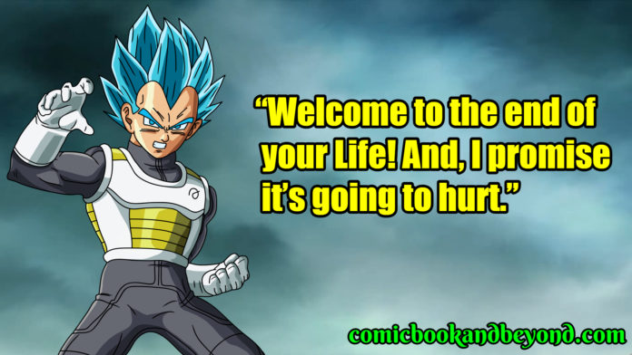Vegeta best quotes