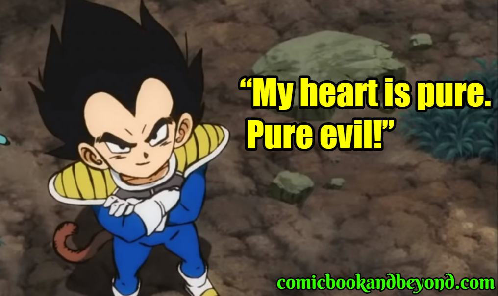 Vegeta famous quotes